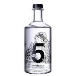 5 Continents Hamburg Dry Gin Test