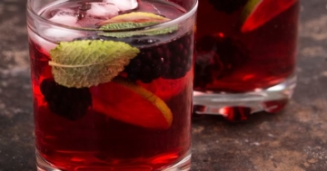 Bramble als fertiger Cocktail