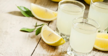 Gin Sour im Glas