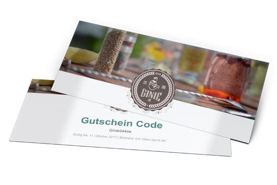 Gin Tasting Gutschein