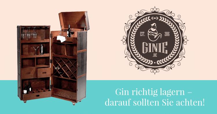 Gin richtig lagern – darauf sollten Sie achten!