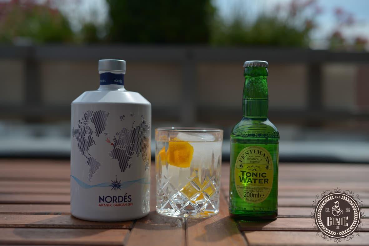 Nordes Gin mit Fentimans Tonic