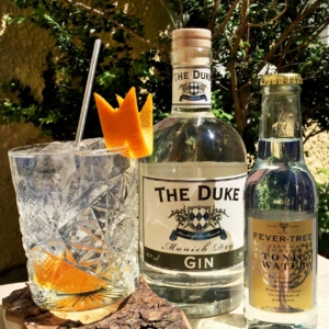 The Duke Gin mit dem Fever Tree Indian