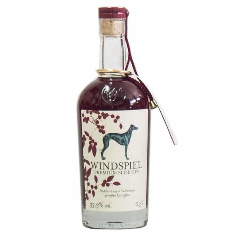 Windspiel Sloe Gin Test
